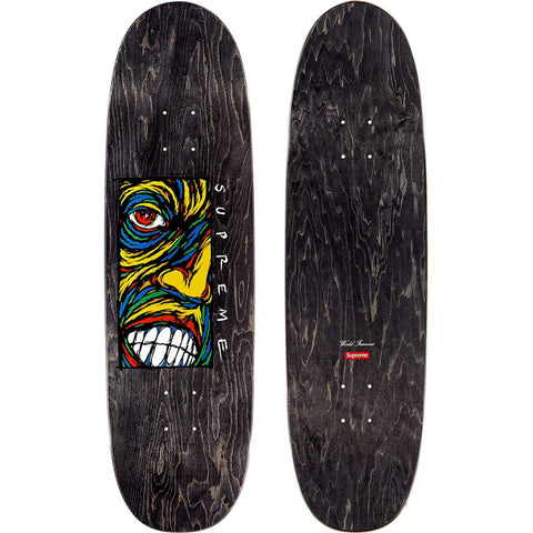 Supreme Disturbed Skateboard Deck Black