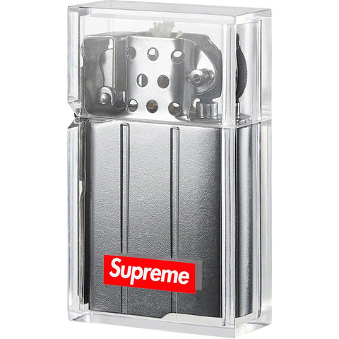 Supreme Tsubota Pearl Hard Edge Lighter Clear