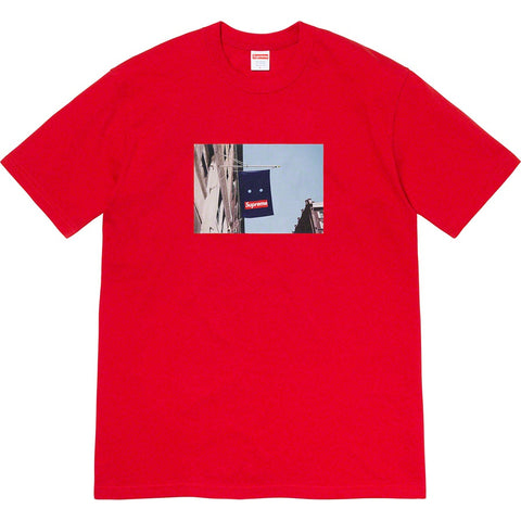 Supreme Banner Tee Red