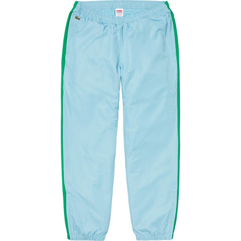 Supreme LACOSTE Track Pant (FW19) Light Blue