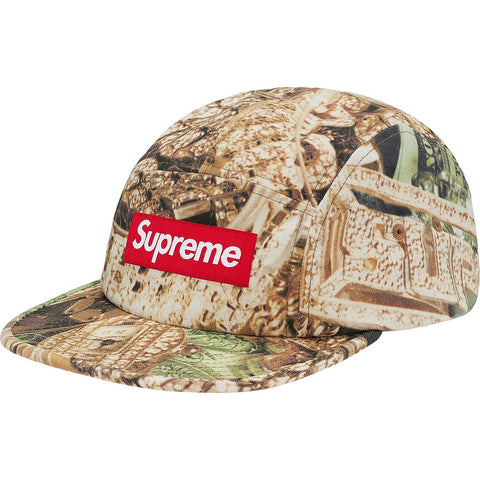 Supreme Bling Camp Cap Green