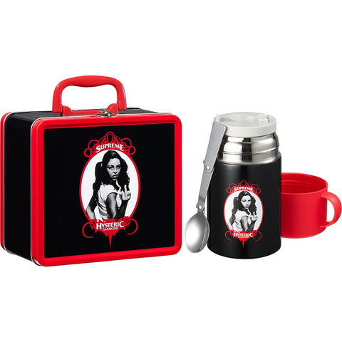 Supreme HYSTERIC GLAMOUR Lunchbox Set Black