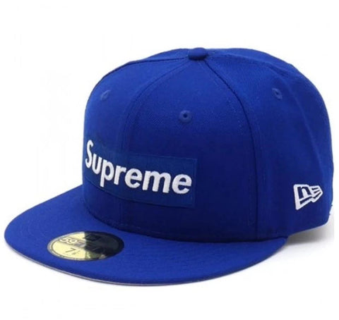 Supreme RIP New Era Cap Royal