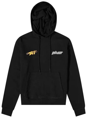 Off-White Thunder Hoodie Black