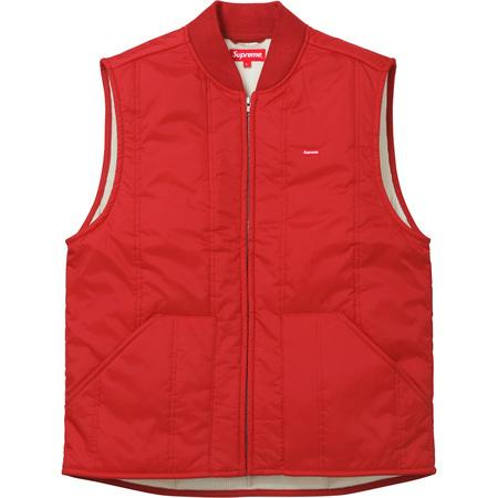 Supreme Shop Vest Red