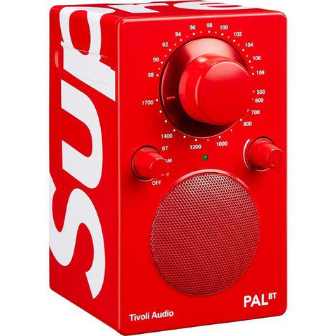 Supreme Tivoli Pal BT Speaker Red