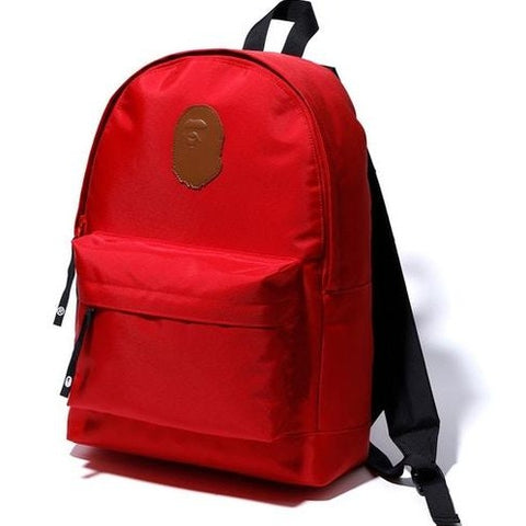 A Bathing Ape Ape Head Day Pack Red