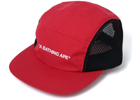 A Bathing Ape Jet Cap Red