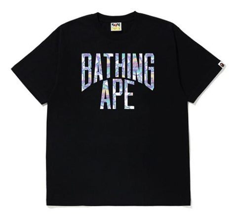 A Bathing Ape Lightning NYC Tee Black