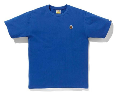 A Bathing Ape Silicon One Pt Tee Blue
