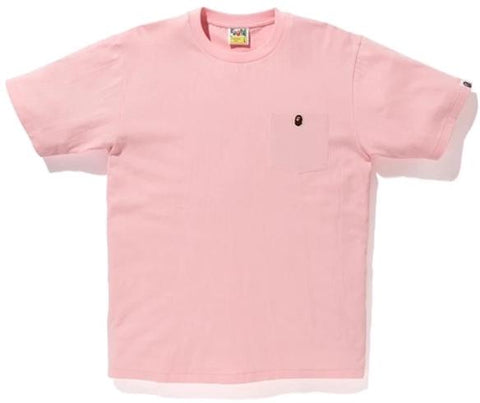 A Bathing Ape 1 pt Tee Pink