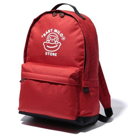 A Bathing Ape Baby Milo Red Backpack