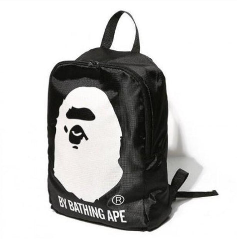 A Bathing Ape Black Backpack