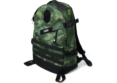A Bathing Ape Forest Green Camo Gradation Backpack
