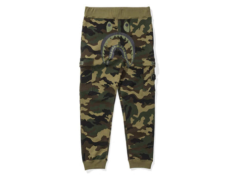 A Bathing Ape X Undefeated Woodland Camo Shark Pants