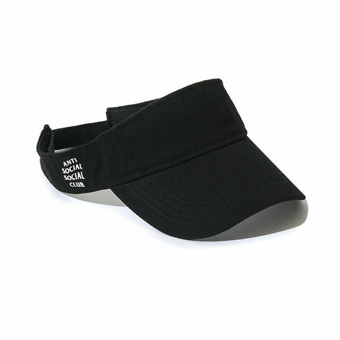 Anti Social Social Club Visor Black