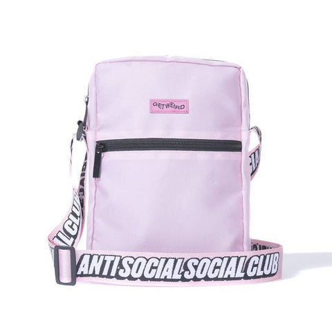 Anti Social Social Club Shoulder Bag Pink