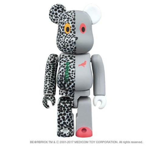 Atmos X Staple X Medicom Be@rbrick 400%