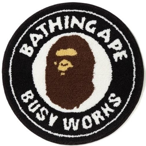 A Bathing Ape Busy Works Rug Black