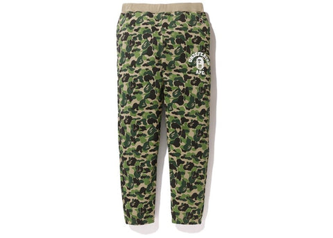 A Bathing Ape x Undefeated ABC College Slim Sweatpants Green