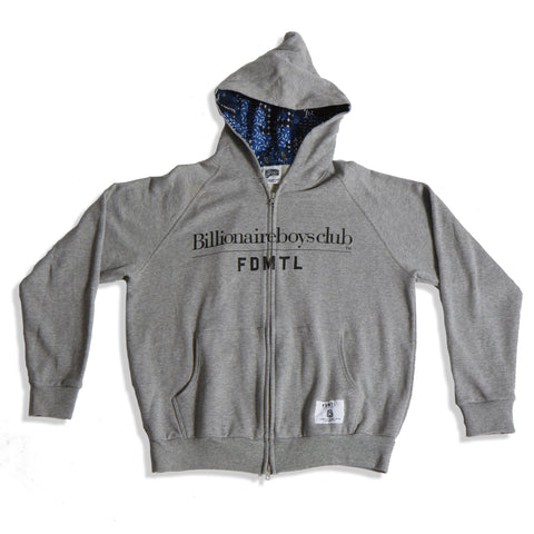 Billionaire Boys Club Zip Up Grey