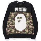 A Bathing Ape x Puma Crewneck Black