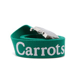 Carrots Wordmark Web Belt - Green