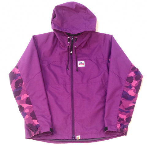 A Bathing Ape Mountain Sports Jacket Purple Camo