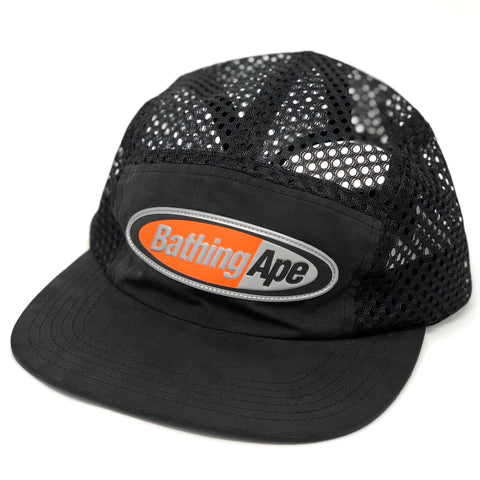A Bathing Ape Mesh Jet Cap Black