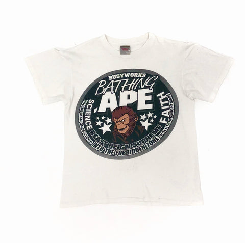 A Bathing Ape OG Oneita Busy Works Tee
