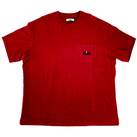 Kith Pocket Tee Deep Red