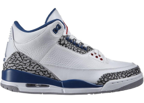 Jordan 3 Retro True Blue (2001)