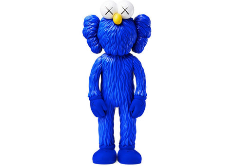Kaws BFF Open Edition Vinyl Figure Blue