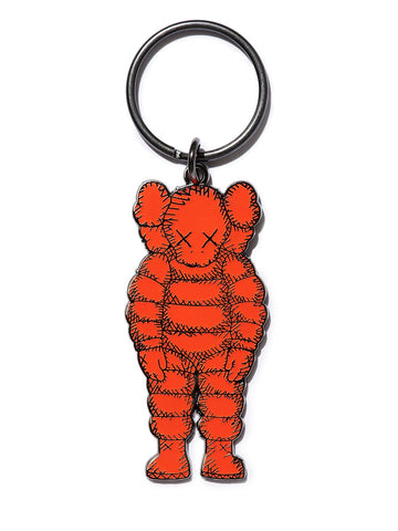 Kaws What Party Keyring Orange
