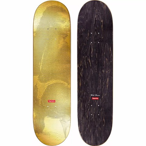 Supreme Gold Digi Skateboard Deck