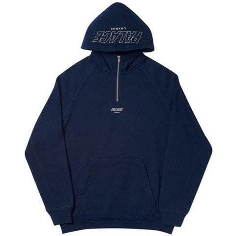Palace Q-Zip Hood Navy
