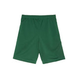 Rare Panther Forest Green Logo Mesh Shorts