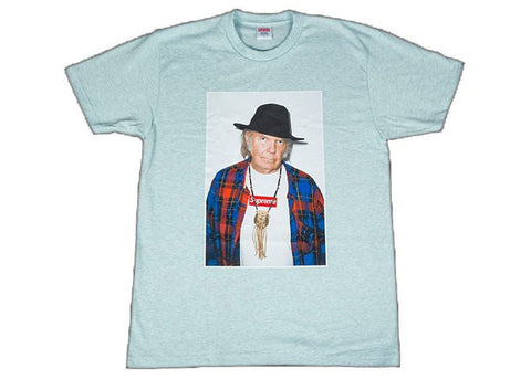 Supreme Neil Young Tee Seafoam