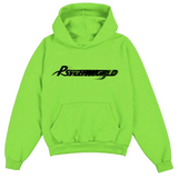 Psychworld Reverse Motion Logo Sweatshirt Lime