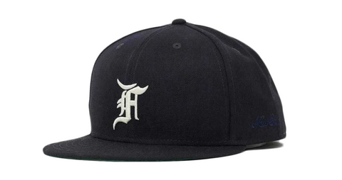 FEAR OF GOD ESSENTIALS New Era Fitted Cap (FW20) Navy