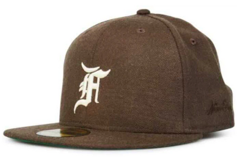 FEAR OF GOD ESSENTIALS New Era Fitted Cap (FW20) Brown