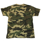 A Bathing Ape Vintage College Tee Camo