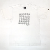 A Bathing Ape General Stamped Tee White