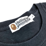 A Bathing Ape Ape Head Tee Black