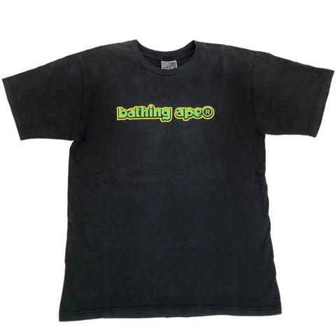 A Bathing Ape Vintage bathing ape Tee Black