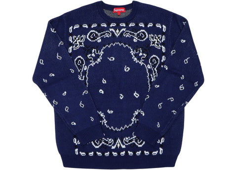 Supreme Paisley Sweater
