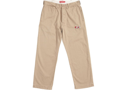 Supreme Cat in the Hat Chino Pant Khaki