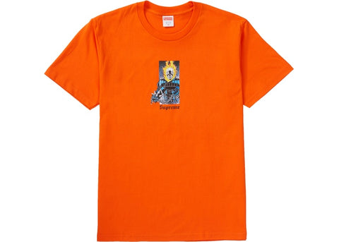 Supreme Ghost Rider Tee Orange