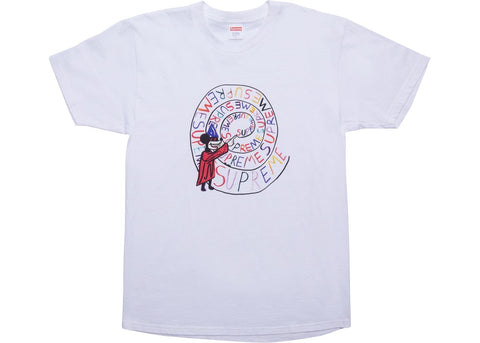 Supreme Joe Roberts Swirl Tee White