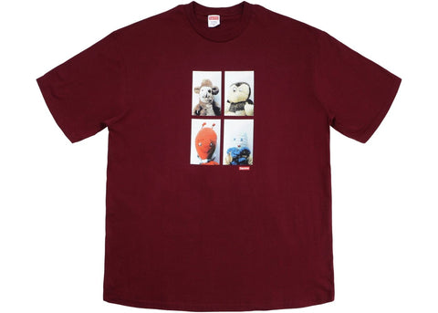 Supreme Mike Kelley Ahh Youth Tee Burgundy_